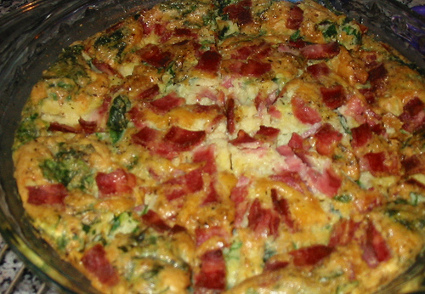 bacondspinachquiche