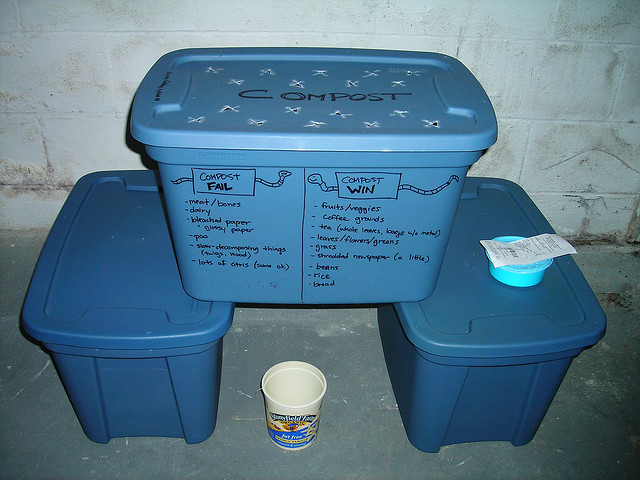 How to make your own indoor compost bin