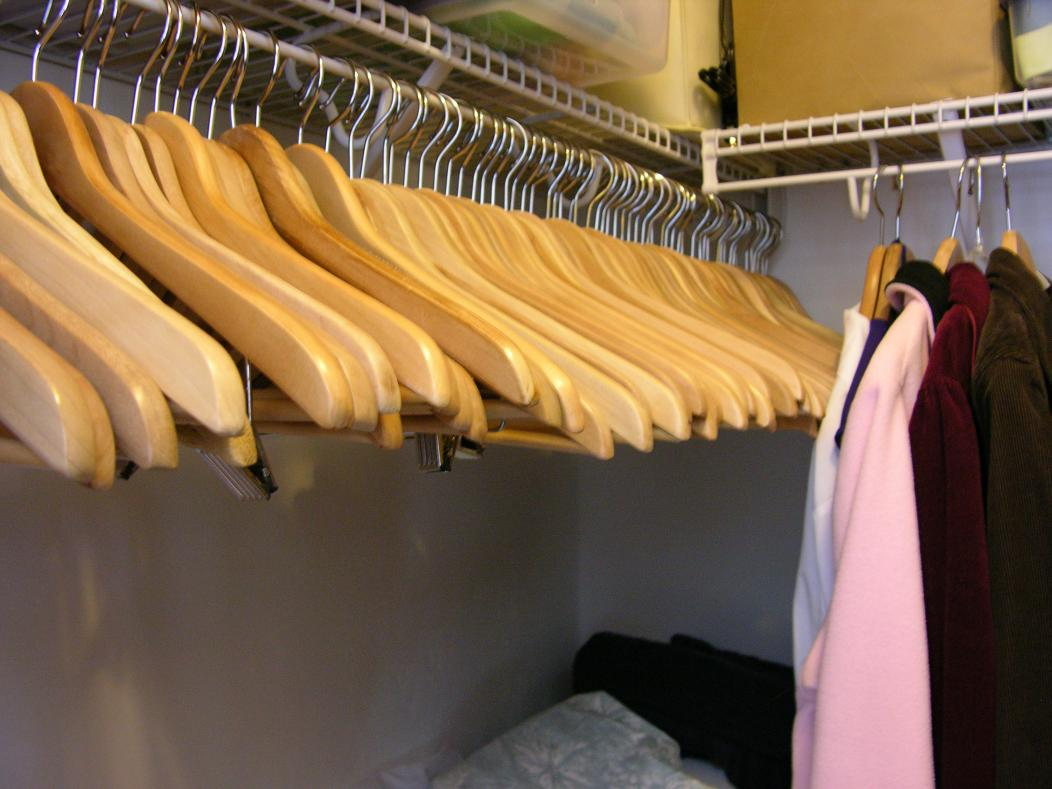 2013 Clean Your Messy Closet Challenge-emptyhangers.jpg