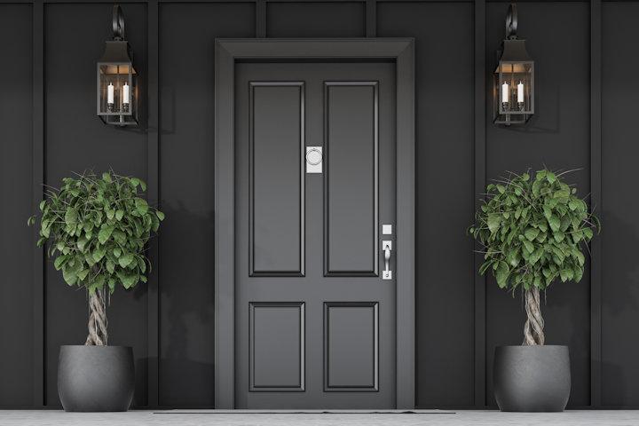 How to Put in a New Front Door