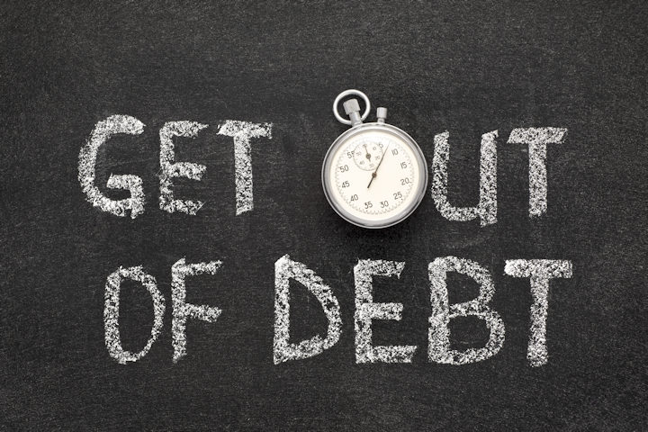 5 Simple Tips for Getting Out of Debt