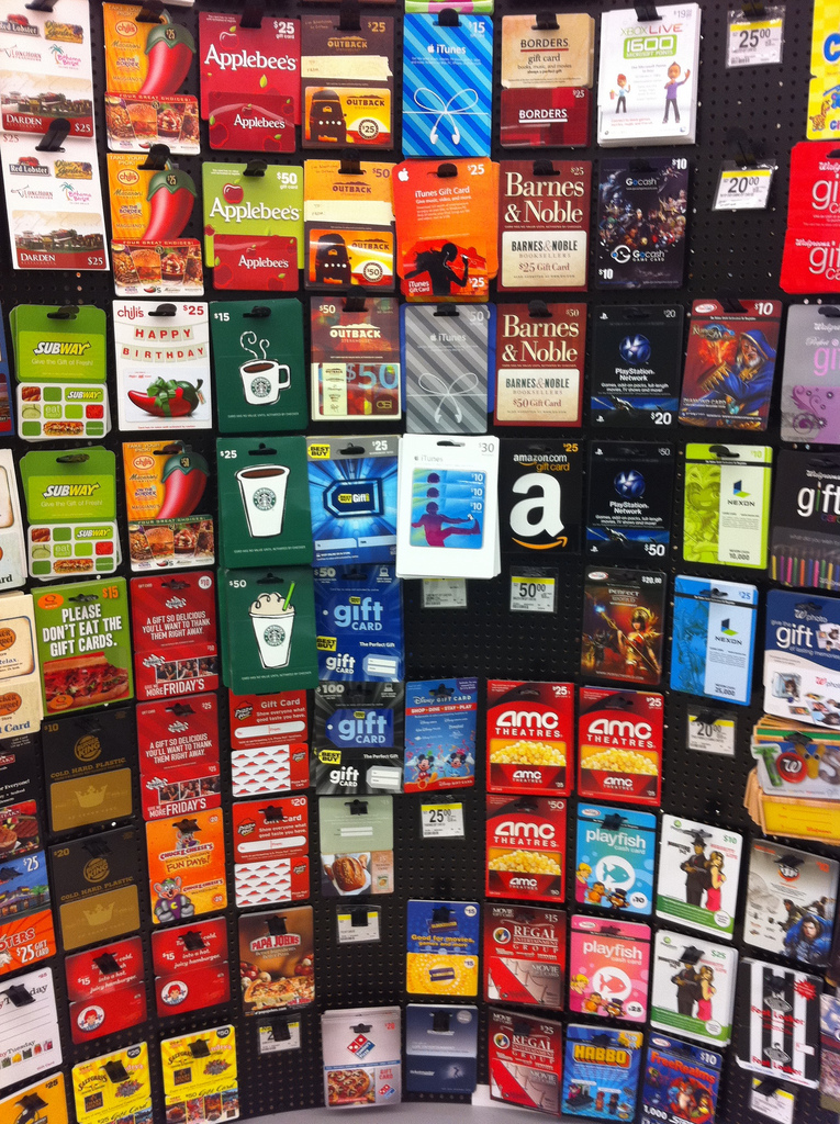 Swap or sell unwanted gift cards - Frugal Village