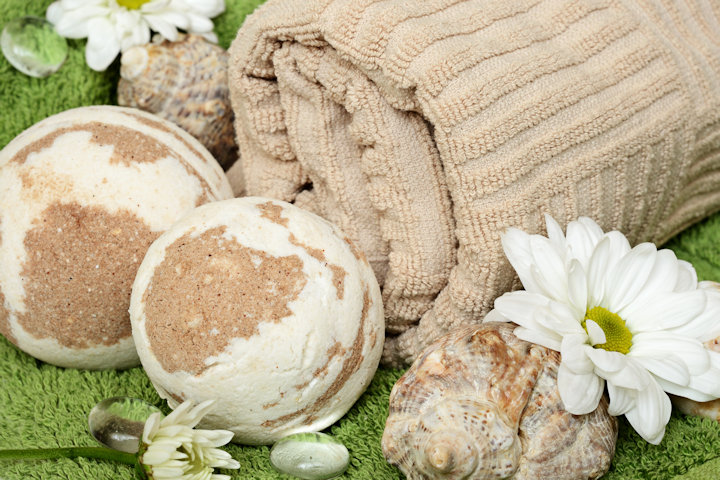 Make Your Own Bath Bombs with Dried Herbs