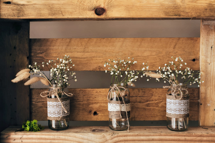Four Mason Jar Projects to Keep You Organized
