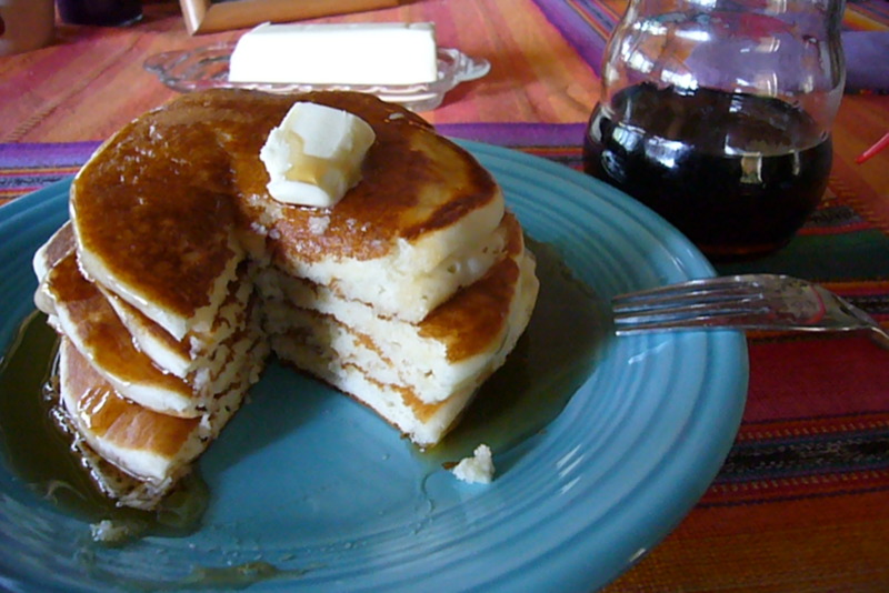 pancakessyrup