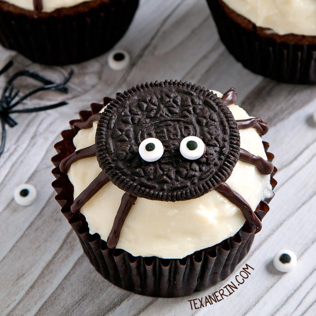 Yummy, Easy and Creative Halloween Food Ideas-spider-cupcakes-halloween-food-ideas.jpg