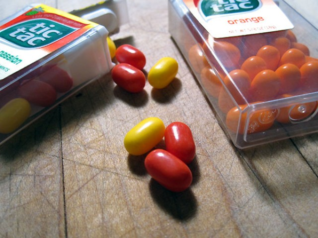 uses for tic tacs