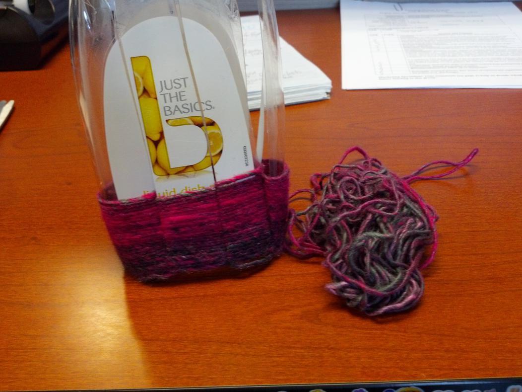 2015 recycle craft challenge-weaving-plastic-2-progress.jpg