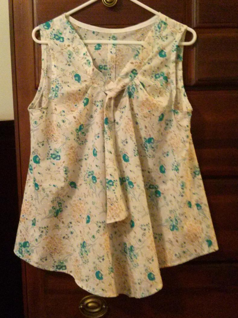 Sewing Challenge 2014-white-turquoise-print.jpg