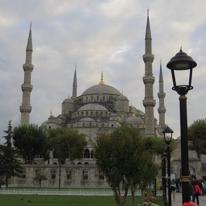 Istanbul (IST) - The Blue Mosque or, more accurately, Sultan Ahmet Camii.