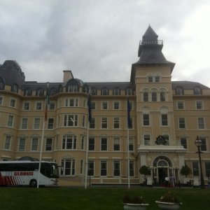 Dublin (DUB) - The historic Royal Marine hotel (built in 1863) where we stayed while touring outside of Dublin.